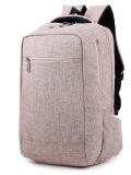 Sac de vente chaud de sac à dos d'ordinateur portatif de simplicité, sac de sac à dos d'épaule d'ordinateur pour Hobe, école, Ol