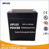 Batterie solaire de recombinaison de gaz 12V 5ah pour l'usage en attente