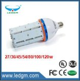 2017 27-120W 128lm / W CUL UL Ce RoHS E26 Luz de milho LED, 60W Replacement 14W LED Corn Lamp / LED Corn COB Light para HID HPS Mhl