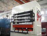 Melammina modellata Linyi della Cina che lamina la macchina calda idraulica della pressa della pelle del portello del MDF