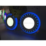 2 색깔 위원회 6+2 W LED 위원회 빛