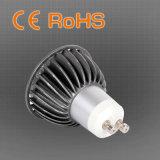 Mourir le projecteur chaud des ventes DEL GU10 de construction de fonte d'aluminium
