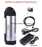batteria elettrica della bottiglia della sedia a rotelle elettrica del motorino della batteria della E-Bici 24V10ah (A)
