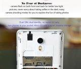 """El androide 5.1 5.0MP 3G WCDMA 1850mAh del teléfono móvil 1.3GHz 1GB 8GB de la base Mtk6580 del patio de Vkworld F1 original 4.5 """" se dobla blanco elegante del teléfono de SIM"""