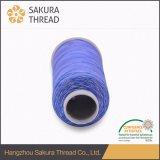 Multicolor bordado de hilo de rayón viscosa Hilados de filamentos