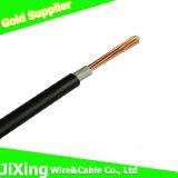 Fio elétrico/elétrico do PVC do cobre para o edifício