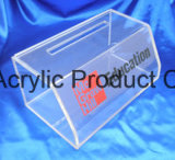 Personnaliser la boîte d'affichage acrylique claire