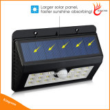 Novo Wireless 20 LED Solar Powered Garden Light com Waterproof IP65 PIR Sensor de Movimento Outdoor Fence Garden Pathway Wall Light