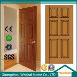 Puerta de madera sólida modificada para requisitos particulares alta calidad del montante y del carril