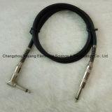 6.35 Штепсельная вилка до 6.35 прямоугольных AV кабеля