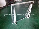 Telhado ao ar livre resistente do metal do dossel do vento de alumínio contínuo do dossel da máscara do frame (YY-K800)
