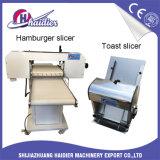Slicer da máquina do cozimento para o Hamburger e o Hotdog com escala ajustável