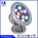 18W 36W RGBW a todo color que cambia la luz subacuática del poder más elevado LED utilizada para la fuente y el barco
