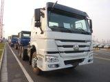 Caminhão resistente de HOWO 6X4 com a tonelada 80-100 que puxa a capacidade
