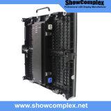 Alta qualità parete piena dell'interno esterna della fase LED di colore di video per affitto (P4-P5-P6)