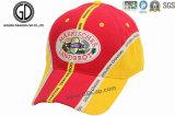 La escritura de la etiqueta tejida modificada para requisitos particulares de la corrección se divierte los sombreros y las gorras de béisbol para el recuerdo