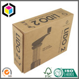 Rectángulo de empaquetado móvil del papel acanalado de la casa durable