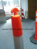 Warnender Pfosten des Looper-Griff-Qualitäts-reflektierender Plastik1150mm