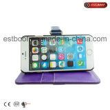 Caisse en cuir de téléphone pour l'iPhone 6/6plus /7/7plus