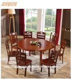 Таблица деревянного стола стула Обедать-Таблицы мебели деревянного деревянного складывая обедая