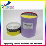 Cadre de empaquetage personnalisant en gros de cadeau de cylindre de cadre de papier de tube de traitement spécial