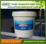 Material impermeable del solo poliuretano componente para el concreto