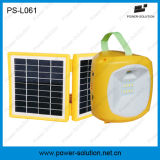 2W Solar Lantern met 4.5ah Rechargeable Battery voor Lighting en Moibile Phone Charging