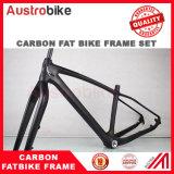 """脂肪質のバイク26erカーボン脂肪質のバイクのFramesetの最大タイヤ4.8 """"カーボン完全な脂肪質のバイク"""