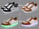 Проблесковый свет СИД обувает Sub вставляемые светящие ботинки СИД (FF326-1)