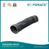 Sacos de filtro de grande resistência de retirada de poeiras industriais da fibra de vidro do Teflon de PTFE