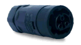 conetor impermeável masculino 8mm B da extremidade de cabo 25A