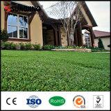 El mejor hilado artificial bien escogido de la hierba del verde 25m m de los productos para el jardín