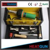 arma plástico de la soldadura del PVC de 1600W 650c como encendedor