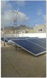 Sistema híbrido solar híbrido Vento-Solar do sistema de Suppy da potência, de gerador de vento 3kw solar, do vento 5kw, o 10kw 20kw solar & o sistema do vento