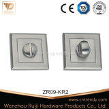 Квадратный Escutcheon двери сплава розетки/цинка с отверстием цилиндра (ZR11/KR3)