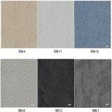 Grano de mármol clásico para los azulejos de piso del vinilo de WPC