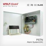 Cambrioleur duel de réseau appelle le système d'alarme de GSM/PSTN pour contrôler le centre