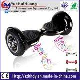 """Auto barato da roda 10inch dois que balança o """"trotinette"""" elétrico com luzes do diodo emissor de luz de Bluetooth"""