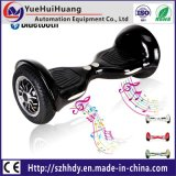 Bluetooth LEDライトが付いている電気スクーターのバランスをとっている安い10inch 2車輪の自己