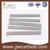 Plaques de carbure de tungstène de la pente K10/K20/K30 avec la qualité