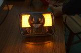 für JeepWrangler Jk Lj Tj Cherokee Xj 2PCS Scheinwerfer des Quadrat-7 des Zoll-30W LED