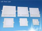 Ultradünnes Hot Sale 12W Aluminum Square Recessed Ceiling LED Panel Light