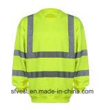 安全反射高い可視性のスエットシャツ
