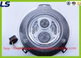 LED-Scheinwerfer-Vorderseite-Lampenschwarz/Chrom