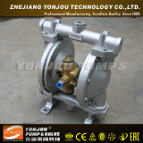 Polypropylene de Qby, elastómetros do Teflon, bomba de diafragma pneumática do NPT/bomba de diafragma pneumática
