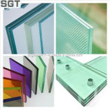 6.38mm Low Iron Laminated Safety Glass mit PVB