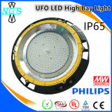 Warehouse Factory를 위한 UFO LED High Bay Light Housing Light
