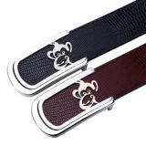 Faltenbildung-Taillen-Riemen der echtes Leder-Männer automatische