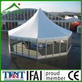 Gazebo de jardin d'abri de Pavillion de Chambre de tente de l'aluminium 4X4m