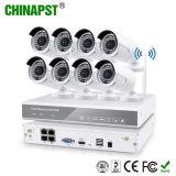 Heiße Sicherheit P2p 8CH drahtloses WiFi NVR CCTV-720p mit IP-Kamera-Installationssatz (PST-WIPK08AL)